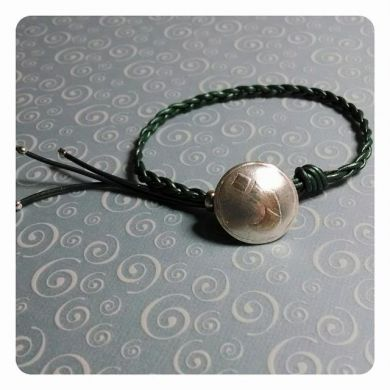 NAZARENE - Domed Button Bracelet