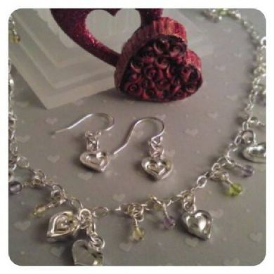 PASSION & PURITY - Play With My Heart Earrings